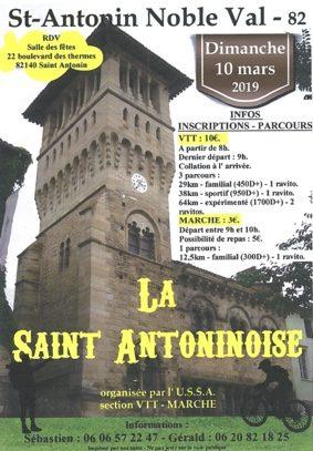 LA SAINT-ANTONINOISE #Saint-Antonin-Noble-Val @ salle des fêtes