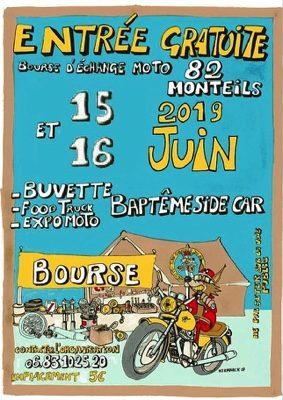 BOURSE D'ÉCHANGE MOTO #Monteils @ Salle des fêtes