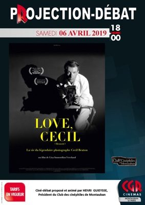 CINÉ-DÉBAT LOVE, CECIL #Montauban @ Cinéma CGR Le Paris