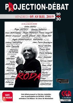 CINÉ-DÉBAT ON L'APPELAIT RODA #Montauban @ Cinéma CGR Le Paris
