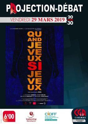 CINÉ-DÉBAT QUAND JE VEUX SI JE VEUX! #Montauban @ Cinéma CGR Le Paris