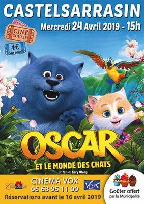 OSCAR ET LE MONDE DES CHATS - CINÉ-GOÛTER #Castelsarrasin @ Cinéma Vox