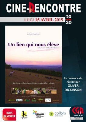 CINÉ-RENCONTRE UN LIEN QUI NOUS ÉLÈVE #Montauban @ Cinéma CGR Le Paris