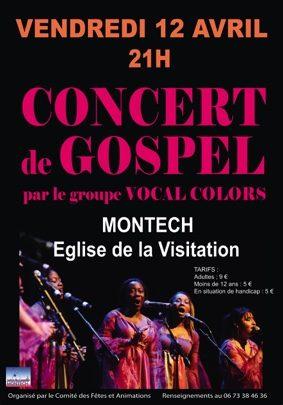 CONCERT DE GOSPEL #Montech @ Eglise La Visitation