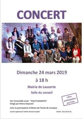 CONCERT #Lauzerte @ Mairie