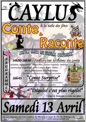 CONTE & RACONTE #Caylus @ Salle des fêtes