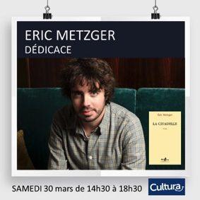 DÉDICACE ERIC METZGER (EMISSION QUOTIDIEN DE YANN BARTHÈS) #Montauban @ Cultura Montauban