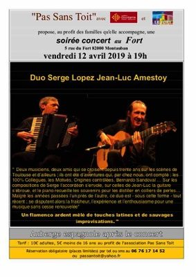 SERGE LOPEZ ET JEAN-LUC AMESTOY #Montauban @ LE FORT