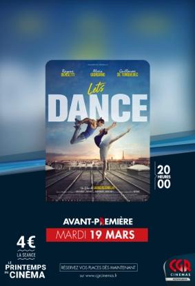 LET'S DANCE EN AVANT PREMIÈRE #Montauban @ CGR MONTAUBAN
