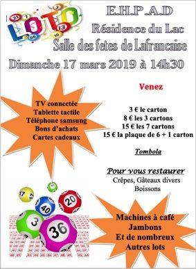 LOTO #Lafrançaise @ salle des fêtes