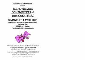 MARCHE AUX COUTURIERES ET AUX CREATEURS #Castelsarrasin