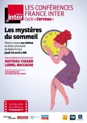 LES MYSTERES DU SOMMEIL - CONFERENCE FRANCE INTER #Montauban @ CGR MONTAUBAN
