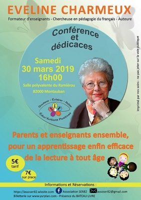 PARENTS ET ENSEIGNANTS ENSEMBLE POUR L'APPRENTISSAGE DE LA LECTURE #Montauban @ Salle Polyvalente Ramiérou