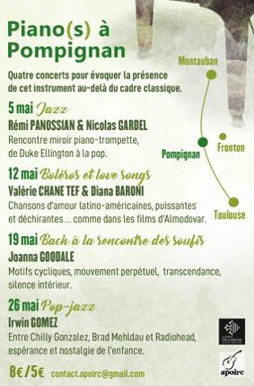 PIANO(s) A POMPIGNAN #Pompignan @ Château de Pompignan