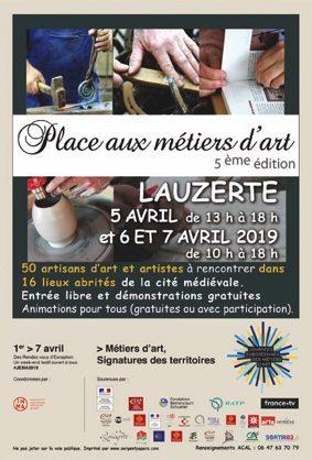 PLACE AUX MÉTIERS D'ART #Lauzerte @ Mairie de Lauzerte