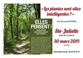 LES PLANTES SONT-ELLES INTELLIGENTES ? #Sainte-Juliette @ Salle de réunion
