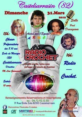 RADIO-CROCHET #Castelsarrasin @ Salle des Fêtes