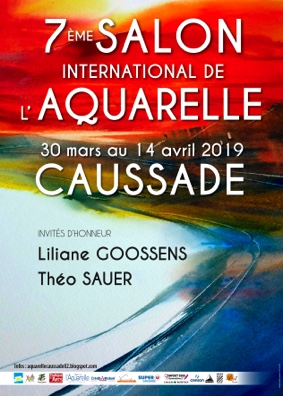 SALON INTERNATIONAL DE L'AQUARELLE #Caussade @ Espace Bonnaïs