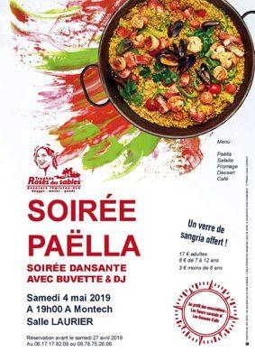 SOIRÉE PAELLA #Montech @ Salle Laurier