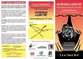 LES THÉÂTRALES EN QUERCY VERT #La Salvetat-Belmontet @ Salle de Saint-Caprais