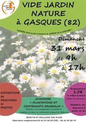 VIDE JARDIN NATURE #Gasques @ Salle des fêtes