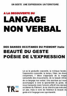 A LA DECOUVERTE DU LANGAGE NON VERBAL DES DANSES OCCITANES DU PIEMONT - ITALIE #Montricoux @ Salle des Mariages
