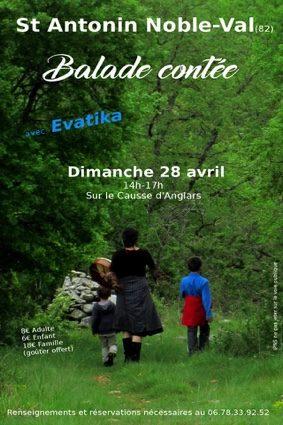 BALADE CONTÉE #Saint-Antonin-Noble-Val