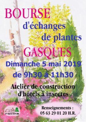 BOURSE D'ÉCHANGES DE PLANTES #Gasques @ Salle des fêtes