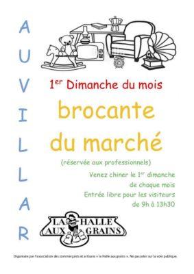 LA BROCANTE DU MARCHÉ #Auvillar @ Place de la Halle