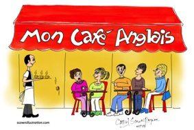 MON CAFÉ ANGLAIS #Montauban @ Brasserie Le Moderne