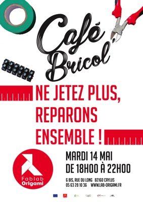 CAFÉ BRICOL' #Caylus @ fablab ORIGAMI