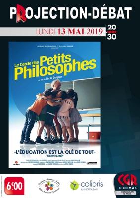 LE CERCLE DES PETITS PHILOSOPHES - PROJECTION & DÉBAT #Montauban @ Cinéma CGR Le Paris