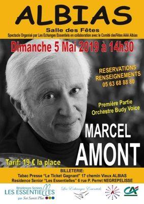 MARCEL AMONT EN CONCERT #Albias @ salle des fêtes d'Albias