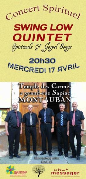 CONCERT SPIRITUEL #Montauban @ Temple des Carmes