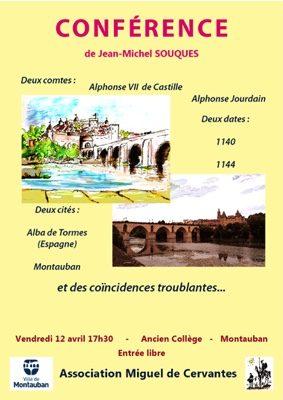 DEUX COMTES, DEUX VILLES ET DES COÏNCIDENCES TROUBLANTES #Montauban @ Ancien Collège