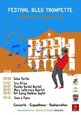FESTIVAL BLEU TROMPETTE, 7ème EDITION #Montpezat-de-Quercy @ Centre Village de Montpezat