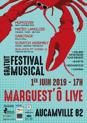 FESTIVAL MARGUEST'Ô LIVE #Aucamville @ Stade