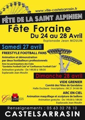 FETE DE LA SAINT-ALPINIEN #Castelsarrasin @ Esplanade Jean Moulin