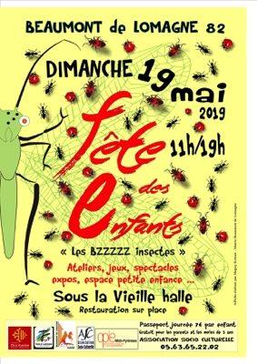 FÊTE DES ENFANTS #Beaumont-de-Lomagne @ Vieille halle de Beaumont