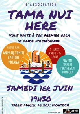 GALA DE DANSE POLYNESIENNE #Montech @ Salle des fêtes Marcel Delbosc