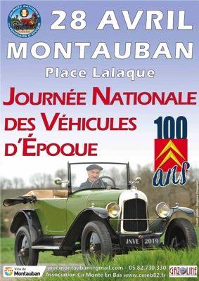 JOURNÉE NATIONALE DES VÉHIVULES D'ÉPOQUE #Montauban