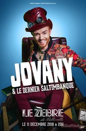 JOVANY ET LE DERNIER DES SALTIMBANQUES #Montauban @ L'espace culturel le VO