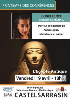 L'EGYPTE ANTIQUE #Castelsarrasin @ Médiathèque