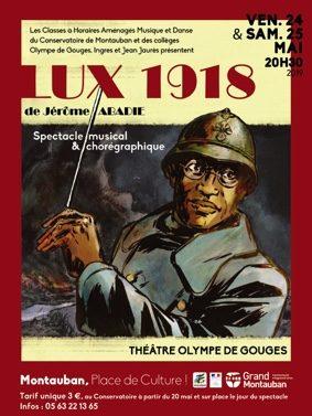 LUX #Montauban @ Théâtre Olympe de Gouges