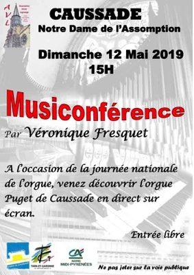 MUSICONFÉRENCE #Caussade @ Eglise Notre Dame de l'Assomption