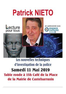 NOUVELLES TECHNIQUES D'INVESTIGATION DE LA POLICE #Castelsarrasin @ Café de la place de la Mairie
