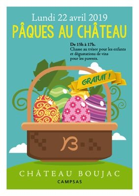 PÂQUES AU CHATEAU #Campsas @ Château BOUJAC