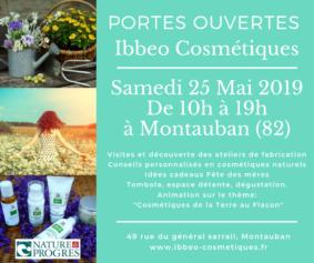 PORTES OUVERTES IBBEO COSMÉTIQUES #Montauban @ IBBEO Cosmétiques
