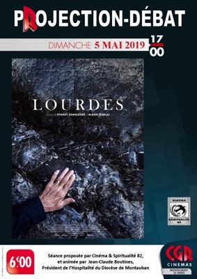 LOURDES - PROJECTION & DÉBAT #Montauban @ Cinéma CGR Le Paris