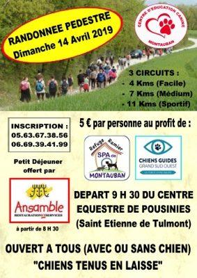 RANDONNEE PEDESTRE #Saint-Étienne-de-Tulmont @ Centre Equestre POUSINIES